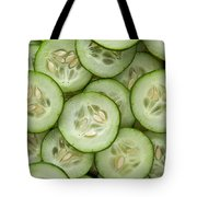 Fresh Cucumbers Tote Bag