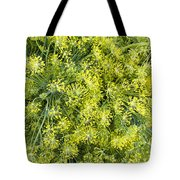 Fresh Dill Weed  Tote Bag