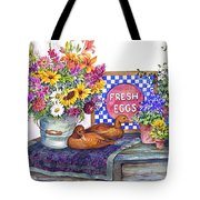 Fresh Eggs Tote Bag