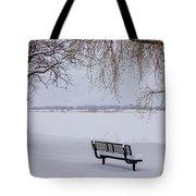 Fresh Fallen Snow Tote Bag