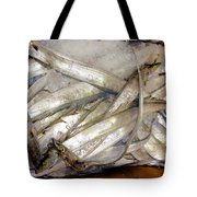 Fresh Fishes In A Market 3 Tote Bag