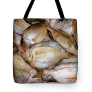Fresh Fishes In A Market 4 Tote Bag