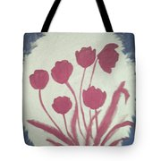 Fresh Flowers- 1st In Series-morning Shadow Tote Bag