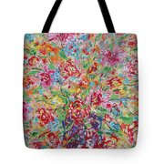 Fresh Flowers. Tote Bag