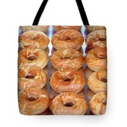 Fresh Frosted Doughnuts On Sale Tote Bag
