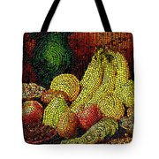 Fresh Fruit Tiled Tote Bag