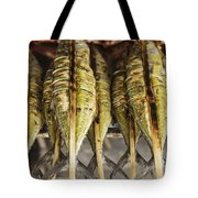 Fresh Grilled Asian Fish In Kep Market Cambodia Tote Bag