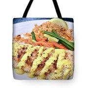 Fresh Grilled Fish Tote Bag