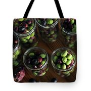 Fresh Harvested Olives And Tunas Tote Bag