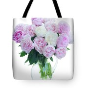 Vase Of Peonies Tote Bag
