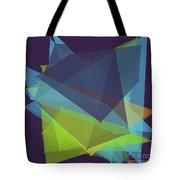 Fresh Polygon Pattern Tote Bag