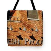 Fresh Produce Signage Tote Bag