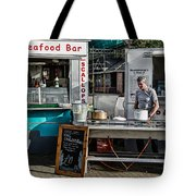 Fresh Seafood Tote Bag