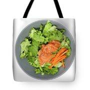 Fresh Seafood Salad With Smoked Salmon Tote Bag