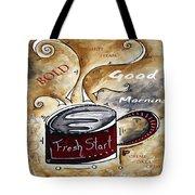 Fresh Start Original Painting Madart Tote Bag