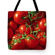 Fresh Tomotos On The Vine Tote Bag