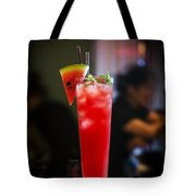 Fresh Watermelon Juice And Vodka Cocktail Drink Tote Bag