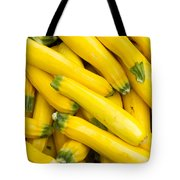 Fresh Yellow Squash  Tote Bag
