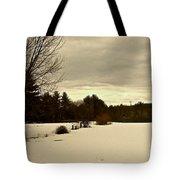 Freshly Fallen Snow Tote Bag