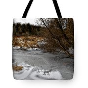 Freshly Frozen Tote Bag