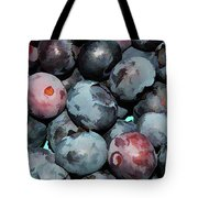 Freshly Picked Blueberries Tote Bag