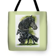 Friesian Tote Bag