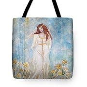 Freya - Goddess Of Love And Beauty Tote Bag