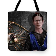Frida - Wall Flower Waiting Tote Bag