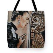 Frida Catrina Tote Bag