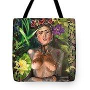 Frida De Ophelia Tote Bag