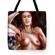 Frida Kahlo And Friend Tote Bag