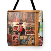 Frida Kahlo Display Picts Tote Bag