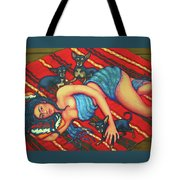 Frida Kahlo - Dreaming Of Diego Tote Bag