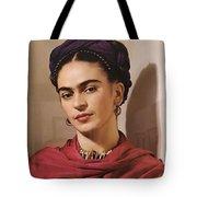 Frida Kahlo Live Tote Bag