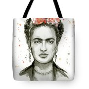 Frida Kahlo Portrait Tote Bag