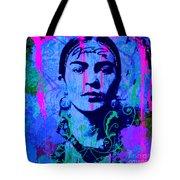 Frida Kahlo Street Pop Art No.1 Tote Bag