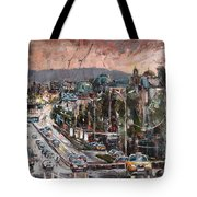 Friday Eveneing Tote Bag