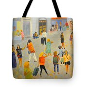 Friday In Tel Aviv Tote Bag
