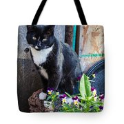 Friday The Cat Tote Bag