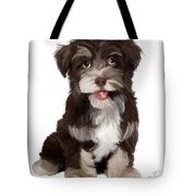 Friendly Dog Tote Bag