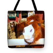 Friendly Fillies Tote Bag