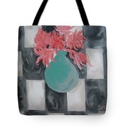 Friendly Flowers Tote Bag