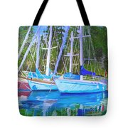 Friends Anchored Tote Bag