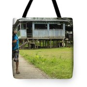 Friends By The House Tote Bag