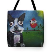 Friends Don't Fly Away Tote Bag