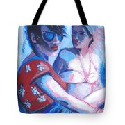 Friends - Girls On Holiday Tote Bag