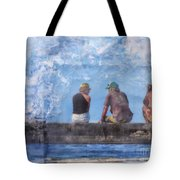 Friends In Paradise Tote Bag