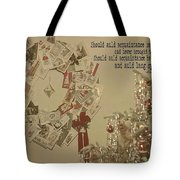 Friends Near And Far Quote Tote Bag