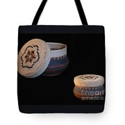 Friendship Dance Clay Basket Tote Bag