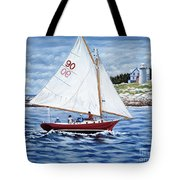 Friendship Sloop Tote Bag